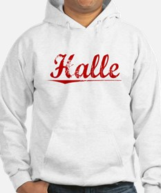 Halle, Vintage Red Jumper Hoody