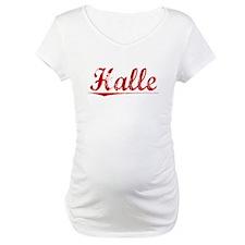 Halle, Vintage Red Shirt