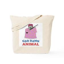 Damn Animal Tote Bag