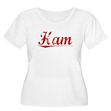 Ham, Vintage Red T-Shirt