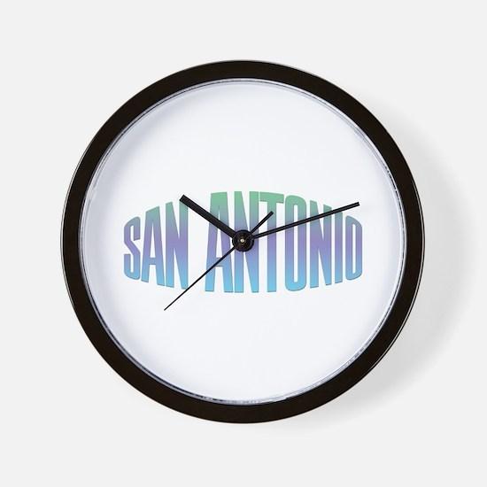 San Antonio Wall Clock