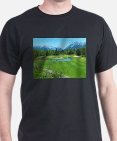 Great Golf Shots - Mt Kidd Signature par 3 T-Shirt