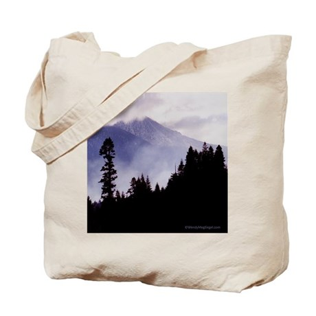 """""""Misty Mountain"""" Tote Bag"""
