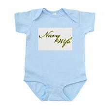 Navy Wife Pride Infant Bodysuit