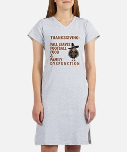 THANKSGIVING Women's Nightshirt