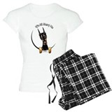 Doberman pinscher T-Shirt / Pajams Pants