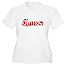 Hauser, Vintage Red T-Shirt