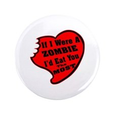 "I'd Eat You The Most 3.5"" Button (100 pack)"