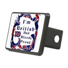 Im British And Bloody Proud Hitch Cover