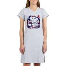 Im British And Bloody Proud Women's Nightshirt