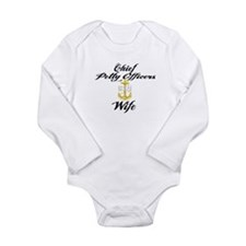 CPO Wife Long Sleeve Infant Bodysuit