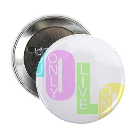 """Yolo 2.25"""" Button (100 pack)"""