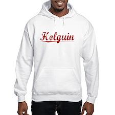 Holguin, Vintage Red Hoodie