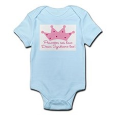 Down Syndrome Princess Infant Creeper Body Suit