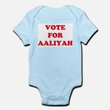 VOTE FOR AALIYAH  Infant Creeper