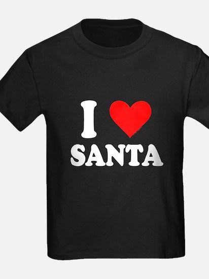 I Love Santa T