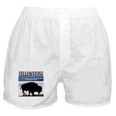 Bison Yellowstone National Pa Boxer Shorts