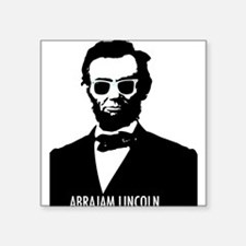 "AbraJAM Lincoln Square Sticker 3"" x 3"""