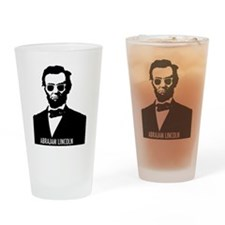 AbraJAM Lincoln Drinking Glass