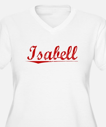 Isabell, Vintage Red T-Shirt