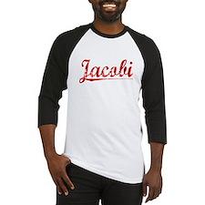Jacobi, Vintage Red Baseball Jersey