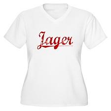 Jager, Vintage Red T-Shirt