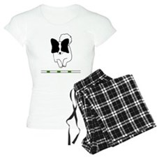Black Papillon Pajamas