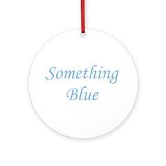 Something Blue Ornament (Round)