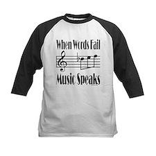 Music Speaks Tee
