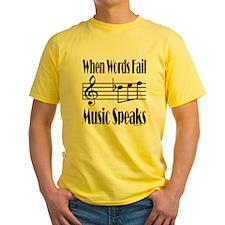 Music Speaks T
