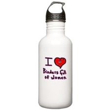 I LOVE BINDERS FULL OF WOMEN MITT ROMNEY Water Bottle
