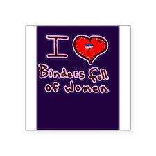 i love binders full of women Mitt Romney Square St