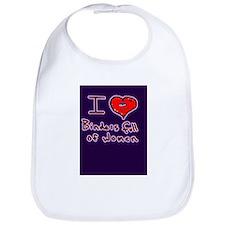 i love binders full of women Mitt Romney Bib