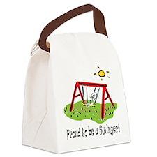 proudtobeaswinger,boy.png Canvas Lunch Bag