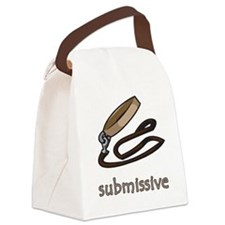submissive.png Canvas Lunch Bag