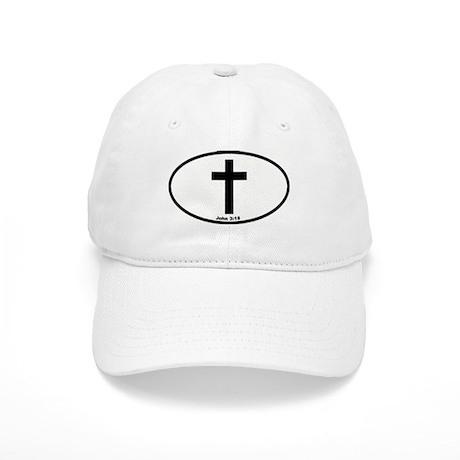 Cross Oval Cap