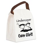 undercover-cam-girl.png Canvas Lunch Bag