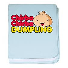 The Chirba Chirba Official Logo baby blanket