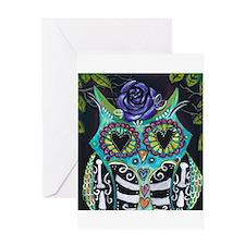 La Lechuza Greeting Card