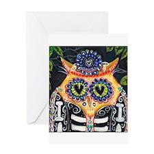 La Lechuza 2 Greeting Card