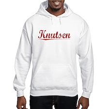 Knutsen, Vintage Red Hoodie