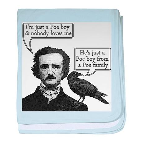 Poe Boy II baby blanket