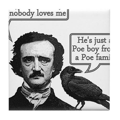 Poe Boy II Tile Coaster