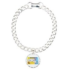 Massachussetts Map Greetings Bracelet