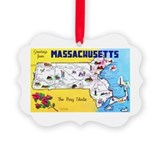 Massachusetts Ornaments