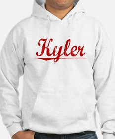 Kyler, Vintage Red Jumper Hoody