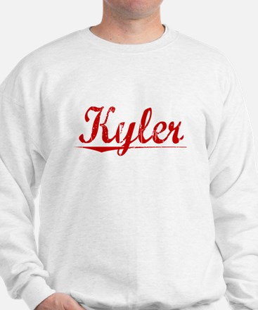 Kyler, Vintage Red Jumper
