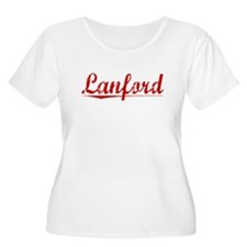 Lanford, Vintage Red T-Shirt