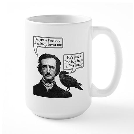 Poe Boy Large Mug
