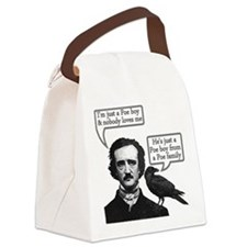 Poe Boy Canvas Lunch Bag